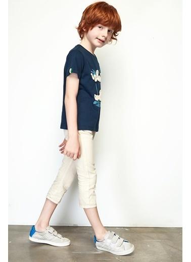 Nebbati Erkek Çocuk Ekru Pantolon 19SS0NB3201 Ekru